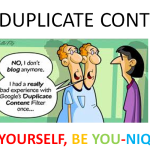Toronto SEO expert should be aware of duplicate content.